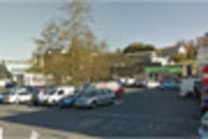 Man's jaw broken in violent attack outside Plymouth shop