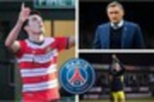 blackburn rovers want more signings and doncaster tell psg...
