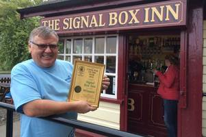 scunthorpe-born licensee claims he has smallest pub in britain