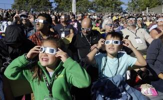 Total Solar Eclipse Begins Journey Across United States