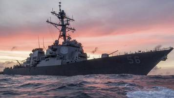 US Navy ship collides with oil tanker off Singapore