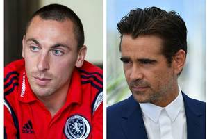 celtic skipper scott brown teams up with hollywood star colin farrell to launch homeless world cup 17