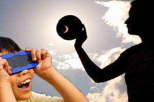 How to view solar eclipse 2017 safely - with mirrors, pinhole projectors and even a COLANDER