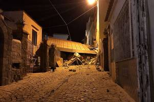 one dead and at least seven missing after earthquake strikes italian resort island of ischia