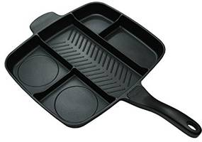 most popular divider grill pan on amazon to buy (review 2017)