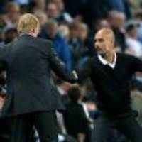 Rival managers frustrated by red cards in Manchester City-Everton stalemate