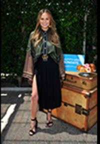 chrissy teigen shares her upcoming chase sapphire travel itineraries at sapphire sundays brunch series kick-off in los angeles