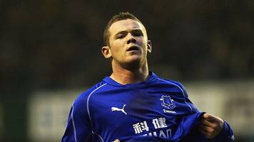 Wayne Rooney: After his 200th Premier League goal, watch three of his first Everton strikes