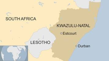 Men in South Africa court on cannibalism charges
