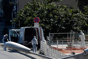 vehicle ramming kills 1 in marseille: french police
