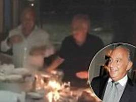 bhs billionaire philip green smashes 200 plates in greece