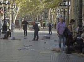 judge frees one of four men held over barcelona terror