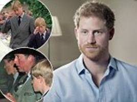prince william and harry reveal reaction to diana's death