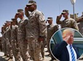 trump set to announce 4,000 added troops for afghanistan