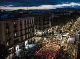 Muslims protest against terrorism after Barcelona attack