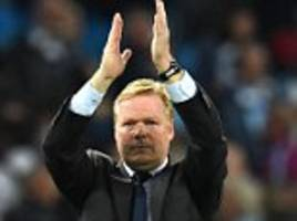 everton boss ronald koeman wants two more signings