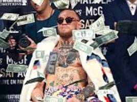 Floyd Mayweather v Conor McGregor to break betting records
