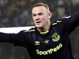 has everton forward wayne rooney really lost his legs?
