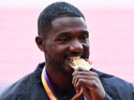 justin gatlin issues official apology to fans