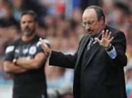 rafa benitez denies mike ashley row is harming newcastle