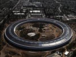 apple's spaceship hq has made neighbors lives living hell