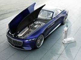 Vision Mercedes-Maybach 6 Cabriolet unveiled in California