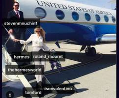 Steven Mnuchin's Actress Wife Rants at Critic After Tagging All Her Designer Clothes on Instagram
