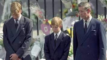 prince harry 'very glad' to walk behind diana's coffin