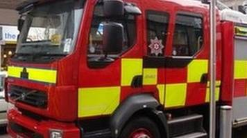 Pensioner rescued from burning house in Londonderry