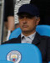 jose mourinho at manchester city v everton: did you see man utd boss in the stands?
