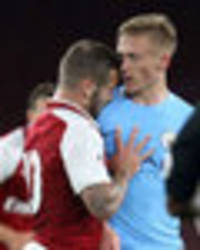 snapped: furious jack wilshere sent off during arsenal under-23 match at emirates