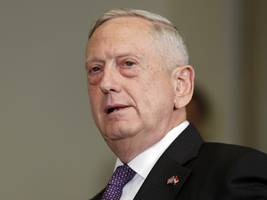 Jim Mattis arrives in Baghdad to speak with Iraqi leaders about next steps in fight against IS