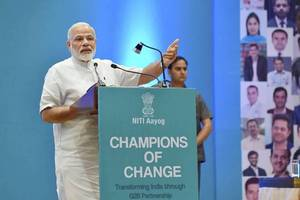 pm narendra modi to meet young ceo's today