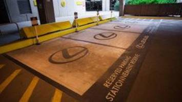 lexus-only parking reversal: calgary airport apologizes after replacing accessible spots for luxury car owners
