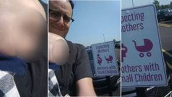 p.e.i. dad prods sobeys about mothers-only parking spot