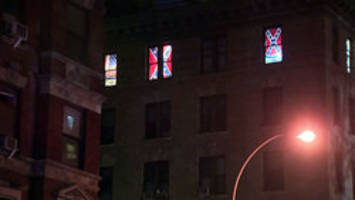 Confederate flags in lit NYC windows mysteriously disappear