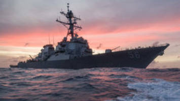 Search underway for missing U.S. sailors; Navy chief orders probe