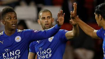 leicester put four past sheff utd in efl cup win