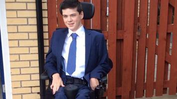 student told disability prevents him gaining journalism award