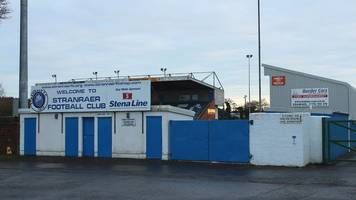 road works prompt stranraer cup tie kick-off switch