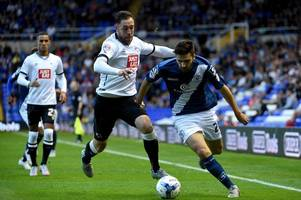 derby county 'target' jon toral having medical with hull city
