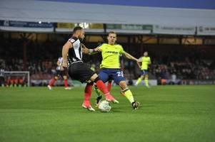 full-time report: grimsby town 0-1 derby county in the carabao cup