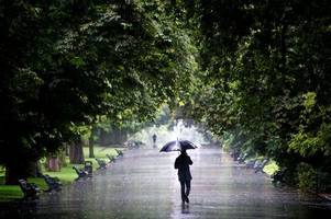hull could see 13 hours of rain and thunderstorms on wednesday