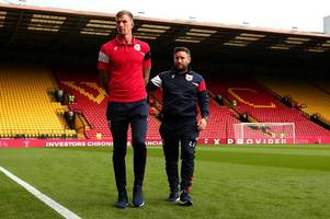 bristol city fans prove at vicarage road the love for aden flint is still there