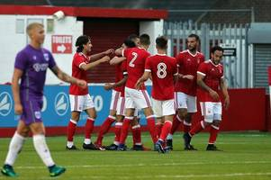 gerry mcdonagh does striking ben brereton impression as forest under-23s beat bristol city with late aaron smith goal