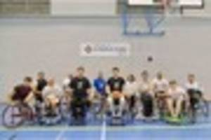Plymouth Storm wheelchair basketball joins the Raiders family