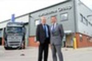 New £4million Volvo truck and bus service depot opens in...