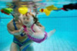 Baby neck floats danger warning to parents issued by swimming...