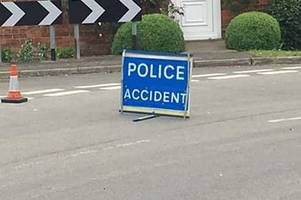 emergency services scrambled to two-vehicle crash on busy lincoln road