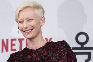 hollywood star tilda swinton drops in at cambridge scotch egg company